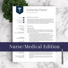 Travel Nurse Resume Sample by Nurse Resume Template For Word U0026 Pages 1 2 And 3 Page Resumes