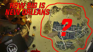 Map New Orleans by Gangstar New Orleans How Big Is The Map Driving Around The Map