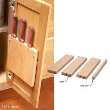 How To Store Kitchen Knives 10 Kitchen Cabinet U0026 Drawer Organizers You Can Build Yourself