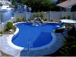 decorating natural swimming pool designs for small backyard design