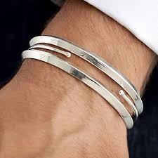 mens silver bangle bracelet images 343 best men 39 s bracelets images bracelets man jpg