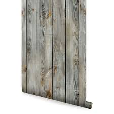 grey vintage wood wallpaper peel and stick wood wall paneling