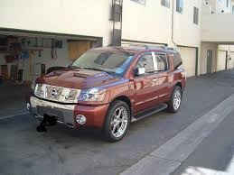 nissan armada air suspension new dual ram air hood painted and installed nissan armada forum