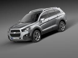 chevrolet captiva 2011 captiva 2012 suv 3d model