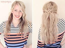 Frisuren Selber Machen Knoten by Best 20 Halboffene Frisuren Zum Selber Machen Ideas On
