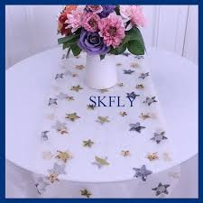 gold star table runner buy star runner and get free shipping on aliexpress com