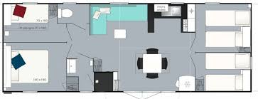 mobil home 4 chambres mobil home prestige 4 chambres 8 personnes 37m aloa