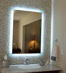 lighted bathroom wall mirror large cabinets ideas round mirrors
