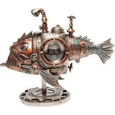 Deko Objekte Wohnzimmer Deko Objekt Steampunk Submarine Kare Design