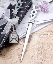letter opener favors what a favor this would make a letter opener mr