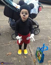 Mickey Mouse Toddler Costume Mickey Mouse Toddler Costume Photo 2 3