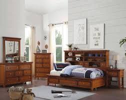Childrens Bedroom Oak Furniture Lacey 30555 Kids Bedroom In Cherry Oak By Acme W Options