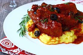 italian pork ribs with olives rosticciana di maiale e olive