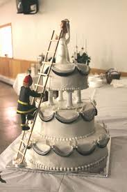 firefighter wedding cake 40 unique firefighter wedding cake toppers wedding idea