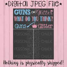 thanksgiving gender reveal guns or glitter pregnancy gender reveal chalkboard gender