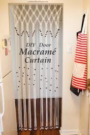 Diy Room Divider Curtain by How To Macrame A Room Divider The Home Depot Macrame Room And