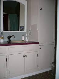 Bathroom Vanity With Linen Cabinet Bathroom Bathroom Furniture Bathroom Cabinets And Storage And