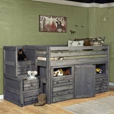Trendwood Bayview Junior Loft Bed W Storage Dresser Sheelys - Trendwood bunk beds