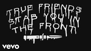 quotes about friends that are like family bring me the horizon true friends official lyric video youtube