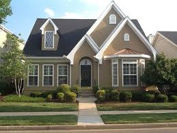 Exterior Paint Color Schemes For Brick Homes - painting brick houses pictures exterior paint colors for brick