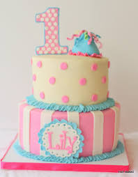 girl birthday 1st birthday cake for baby