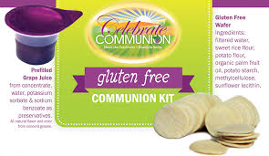 communion kits gluten free communion kit celebrate communion