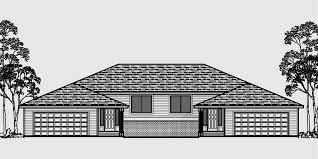 duplex house plans split level duplex house plans d 492