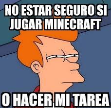 Memes Minecraft - los mejores memes de minecraft matando el tiempo