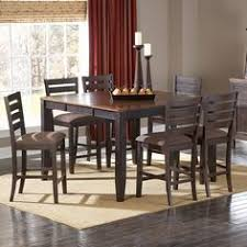 7 piece counter height dining room sets jofran 337 54 taylor 7 piece butterfly leaf counter height table set
