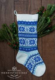 personalized wool white nordic snowflakes with