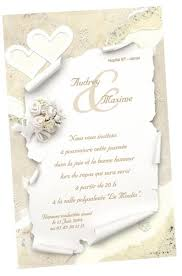 modele carte mariage carte d invitation mariage régalb modèle k644 avec impression