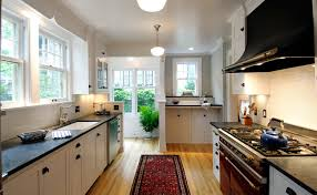 Galley Kitchen Remodel - kitchen remodeling ideas with a french volnay range in minneapolis mn