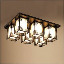 Ceiling Ls For Living Room The New Style Antique L Rectangular Led Ceiling