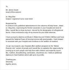 cover letter nurse cover letter sample cover letter for nurses