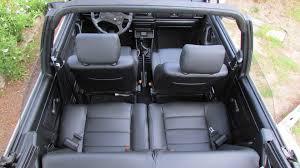 couvre siege cuir golf cabriolet mk1 siége de cuir artificiel couvre en noir