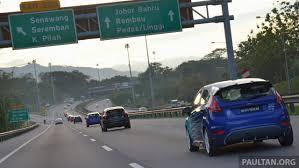 lexus malaysia johor bahru north south highway tapah r u0026r to close till apr 2016