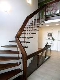 freitragende treppen freitragende treppe mit edelstahl 02 treppenbau becker