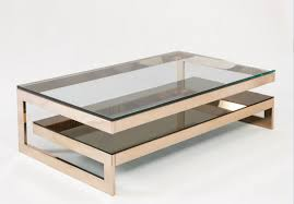 furniture glass and gold coffee table ideas bronze hexagonal
