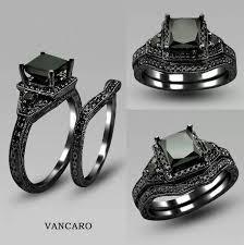 black wedding rings for him wedding rings black tungsten wedding bands amazing black wedding