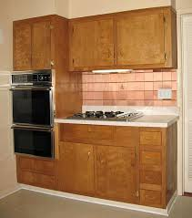 kitchen wood furniture wood kitchen cabinets in the 1950s and 1960s unitized vs
