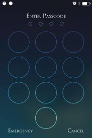 pattern lock screen for ipad beef up your iphone s passcode security with a blank keypad on your