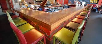 Slab Wood Bar Top Countertops Table Tops And Bar Tops Wood Kitchen Countertops