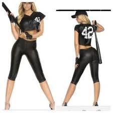 Halloween Baseball Costumes Ladies Grand Slam Baseball Uniform Costume Sport Theme