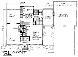 country kitchen house plans plan 2113 colonial