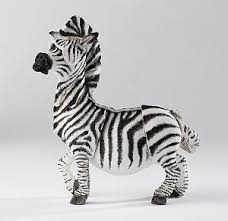 zebra ornaments a breed apart wildlife figurine zebra ornament