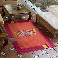 guatemalan rugs at novica