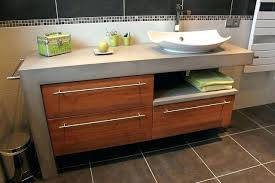 fabriquer un meuble de cuisine salle de bain avec meuble de cuisine meuble de salle de bain avec