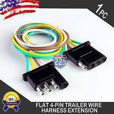 trailer light hook up trailer wiring harness ebay