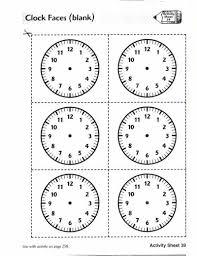 analog clock faces blank lovetoteach org free printable