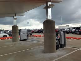 nissan leaf fast charger nashville airport installs reasonably priced ev charging including